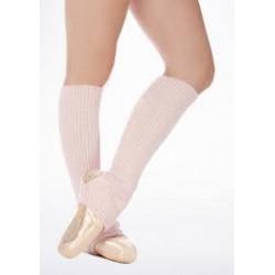Scaldamuscoli Capezio lana corti rosa