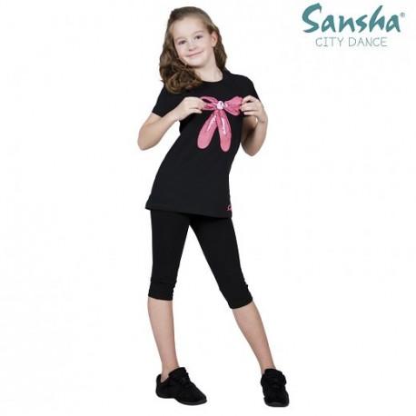 T-shirt Scarpette Sansha