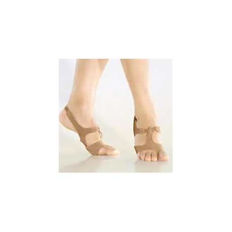 Sandalo afro scamosciato