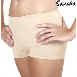 Shorts coulotte nude Sansha