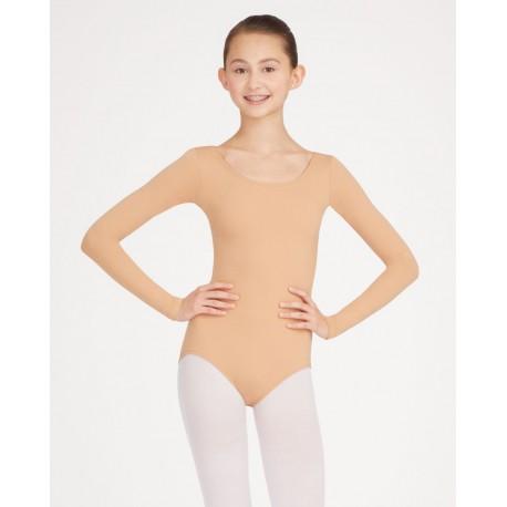 Body manica lunga nude tb135 Capezio